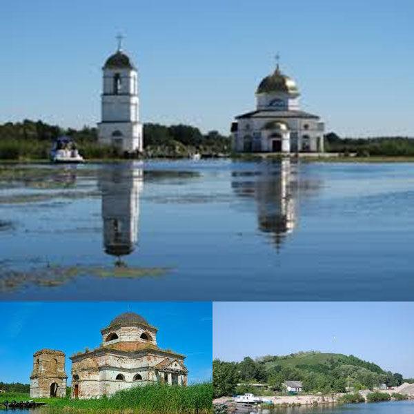 Тур затопленная церковь и плацдарм